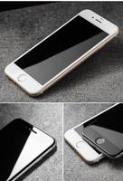 Защитное стекло для Apple iPhone 7 (8) на дисплей, 4D, белый