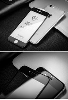 Защитное стекло для Apple iPhone 7 (8) на дисплей, 4D, черный