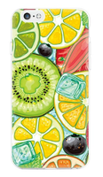 Чехол-накладка на Apple iPhone 6/6S, силикон, colorfull, ice fruit