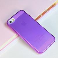 Чехол-накладка на Apple iPhone X/Xs, пластик, ультратонкий, фиолетовый