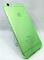 Чехол-накладка на Apple iPhone X/Xs, пластик, ультратонкий, зеленый