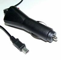 Автомобильное зарядное устройство miniUSB, Glossar, 1А, черный