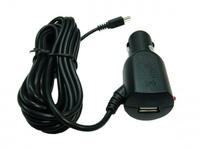 Автомобильное зарядное устройство miniUSB, Орбита AV-1026, USB, 2А, 3м, черный