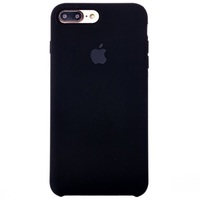 Чехол-накладка на Apple iPhone 7/8, силикон, original design soft touch, черный