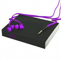Гарнитура проводная, 3,5мм, RePU PU-02, stereo, фиолетовый
