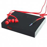 Гарнитура проводная, 3,5мм, RePU PU-02, stereo, красный
