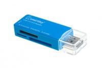 Карт-ридер, USB 2.0, Smartbuy Smartbuy SBR-749-B, All in One