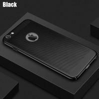 Чехол-накладка на Apple iPhone 5/5S, пластик, перфорация, черный