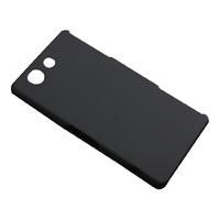 Чехол-накладка на Sony Xperia Z3 compact пластик, черный