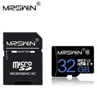 Карта памяти MicroSDHC 32GB MRSWIN, Class 10 (с SD адаптером)