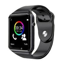 Смарт-часы W8, microSim, 240*240 TFT, BT, 0,3Mp cam, microSD, черный