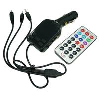 FM-модулятор, Орбита KC-608, USB/microSD, aux на проводе, пульт