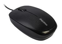 Мышь проводная, Smart Buy 214-K ONE, оптическая, 3кн, черный