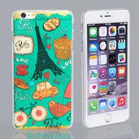 Чехол-накладка на Apple iPhone 4/4S, пластик, полупрозрачный, pic 1