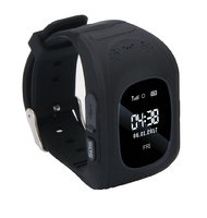 Смарт-часы Q50, детские, Sim, LCD, GPRS, LBS, черный