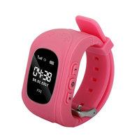 Смарт-часы Q50, детские, Sim, OLED, GPRS, GPS, розовый