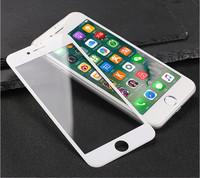 Защитное стекло для Apple iPhone 7 (8) на дисплей, 3D, белый
