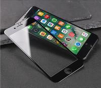 Защитное стекло для Apple iPhone 7 (8) на дисплей, 3D, черный