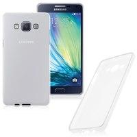 Чехол-накладка на Samsung A7 силикон, белый