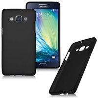 Чехол-накладка на Samsung A7 силикон, черный