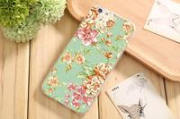 Чехол-накладка на Apple iPhone 6/6S, силикон, flowers 2