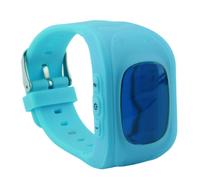Смарт-часы Q50, детские, Sim, LCD, GPRS, LBS, голубой