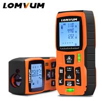 Лазерный дальномер LOMVUM LV80, 80м, оранжевый