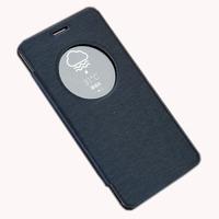Чехол-книжка для Asus Zenfone 5 полиуретан, темно-синий
