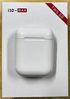 Гарнитура беспроводная, TWS i10, Bluetooth 5.0, Lightning кабель, кнопочное управление, белый BOX