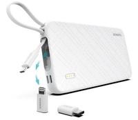 Портативный аккумулятор 10000mAh, Romoss QS10, (mUSB, Lighthing, TypeC), + кабель/переходники