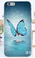Чехол-накладка на Apple iPhone 6/6S, пластик, butterfly