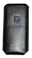Чехол карман, Interstep, p36, кожа, черный