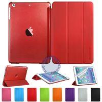 Чехол Smart-cover для Apple iPad mini 1,2,3, полиуретан, красный