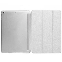 Чехол Smart-cover для Apple iPad mini 1,2,3, полиуретан, белый