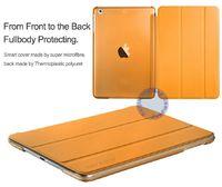 Чехол Smart-cover для Apple iPad mini 1,2,3, полиуретан, оранжевый