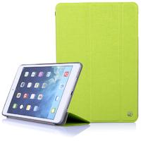 Чехол Smart-cover для Apple iPad mini 1,2,3, полиуретан, текстурированный, зеленый
