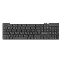 Клавиатура проводная Defender OfficeMate HB-260, мультимедиа, черный