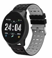 Фитнес-браслет SANDA B2, Bluetooth, 180mAh, IP67, черный