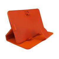 Универсальный чехол, 7'', кожа, оранжевый