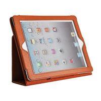 Чехол Smart-case для Apple iPad 2/3/4, кожа, оранжевый
