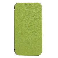 Чехол-книжка на Apple iPhone 4/4S, полиуретан, зеленый