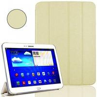 Чехол Smart-cover для Samsung Galaxy Tab 3 10.1, полиуретан, белый