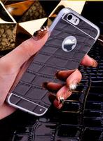 Чехол-накладка на Apple iPhone 7/8, силикон, зеркальный, черный