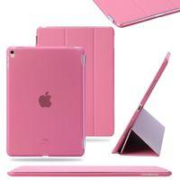 Чехол Smart-cover для Apple Ipad Air, полиуретан, розовый