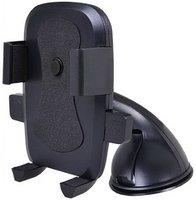 """Автомобильный держатель, Perfeo PH-516, до 6"""", присоска, черный"""