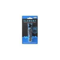 Гарнитура проводная, 3,5мм, Smart Buy ELEMENT: EXTRA BASS SBH-600, вакуумная, 1.2 м, черный