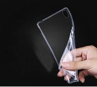 Чехол-накладка на Sony Xperia C3, силикон, прозрачный