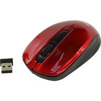 Мышь беспроводная, Smart Buy 332 ONE, оптическая, 3кн, красный