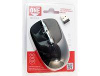 Мышь беспроводная, Smart Buy 345AG ONE, оптическая, 3кн, черный