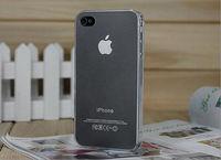 Чехол-накладка на Apple iPhone 4/4S, пластик, тонкий, матовый, белый